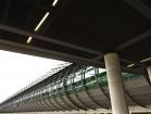 Fussgängertunnel am Flughafen LE