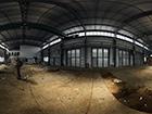"""Industriehalle -- Industriehalle auf dem Gelände einer Bahnbrückenbau Firma.<br> <a href=""""http://www.runathome.de/blog/?p=507"""" target=""""_self"""">Zum Artikel</a>"""